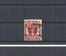 Danzig, Gdansk, 1921 Michelnr: 81 b o, gestempelt, geprüft BPP, Katalogwert € 9