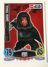 Star Wars Lego Darth Maul  Attax French Limited Edition Playing Card - Very Rare