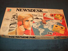NEWSDESK --FAMILY BOARD GAME BY MILTON BRADLEY 1976
