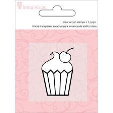"Imaginisce Little Princess ""Cupcake"" Clear Stamp!"