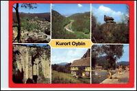 DDR Mehrbild-AK Postkarte Sachsen Sächsische Schweiz OYBIN Kr. Zittau 6 Fotos