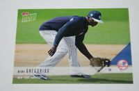 Didi Gregorius 2018 NEW YORK YANKEES TOPPS NOW ROAD TO OPENING DAY