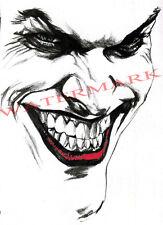 Batman Joker cara Caballero Oscuro Camiseta S M L Xl Xxl Xxxl