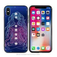 Mandala chakra yoga cases iPhone 5/5S/SE 6/6S 6+/6S+ 7/7+ 8/8+ X XS XR XS MAX