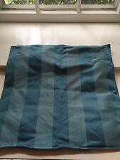 Ikea Henrika Blue Silk Pillow Cover 20 X 20