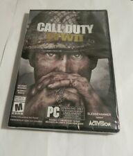 Call of Duty: WWII (PC, 2017) Brand New Sealed  Case Damaged    Activision  Fast