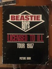 Beastie Boys Licensed To Ill Tour Picture Book 1987.