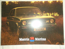 Morris Marina brochure c1976 ref 3327