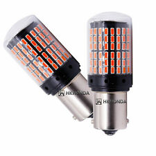 2pc super bright 1156 BAU15S PY21W 3014 144SMD led Car turn signal lamp Bulb Red