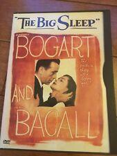 The Big Sleep Dvd starring Humphrey Bogart and Lauren Bacall