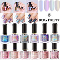BORN PRETTY 6ML Nail Polish Glitter Magnetic Glimmer Rose Gold Shiny Varnish DIY