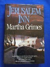 JERUSALEM INN - FIRST EDITION SIGNED BY MARTHA GRIMES