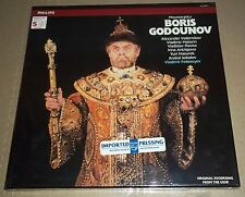 Fedoseyev/Vedernikov MUSSORGSKY Boris Godunov - Philips 412 281-1 SEALED