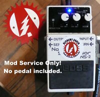 Mod Service Only No Pedal Included Boss NS-2 Noise Suppressor Gate Alchemy Audio