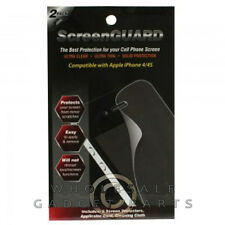 Apple iPhone 4/i4S LCD Screen Protector-Twin Pack Cover Film Guard Shield Front