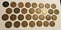 Indian Head Cents - Penny's - Lot of 31 Coins - Consecutive Dates - 1879-1909