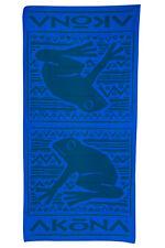 "Akona Frog Beach Microfiber Towel Scuba Snorkeling, Diving 30"" x 60"" Blue"