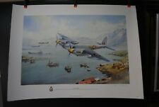 3 AVIATION LIMITED EDITION PRINTS WW2  ARTIST SIGNED