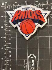 New York Knicks National Basketball Association NBA Logo Patch NYC City Hoops