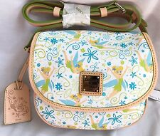 Run Disney 2017 Tinkerbell Marathon Dooney & And Bourke Cross Body Bag Purse M