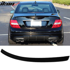 Fits 08-14 Mercedes-Benz C-Class W204 4Dr AMG Style Unpainted ABS Trunk Spoiler
