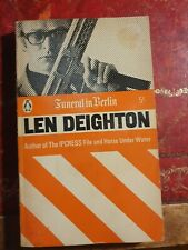 Len Deighton Funeral In Berlin Penguin Books No2461 1964
