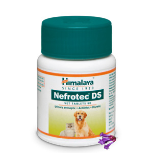 Himalaya Nefrotec DS Vet for dogs and cats for urinary tract Infarction 60tablet