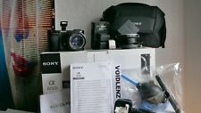 SONY alpha A6000 24.3MP 1080p HD Digital Camera & 50mm F1.7 Prime Lens + EXTRAS