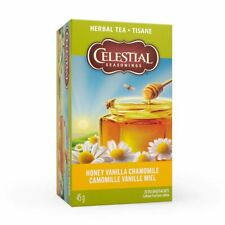 Celestial Seasonings Herbal Tea Honey Vanilla Chamomile, 20 ct, 1 Pack