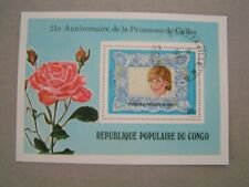 Kongo - Block 30, 1982, gestempelt, Lady Diana