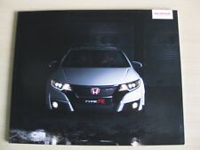 Honda Civic Type-R FK2 UK Sales Brochure (2015).