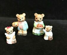 Halloweeen Teddy Bear Set~5209~Homco~Four (4) Pieces~EUC~So Cute!!