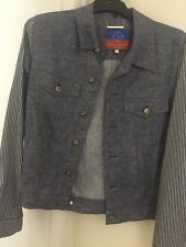*** OPENING CEREMONY *** - Light Denim Jacket - Small - (NEVER WORE OUT) ***