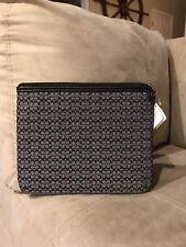 NWT Coach Mini Signature Ipad Tablet Sleeve Case Zip 61992E ~~Free Shipping~~