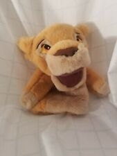 Disney Simba Hand Puppet from The Lion King  Plush Toy