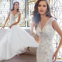 Mermaid Spitze Brautkleid Hochzeitskleid Kleid Braut Babycat collection BC650