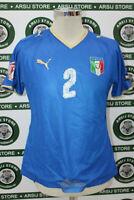 maglia calcio ITALIA MATCH WORN shirt maillot camiseta trikot