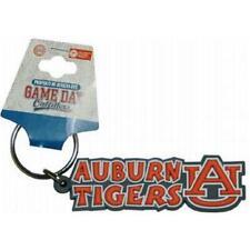 Auburn Tigers PVC Keychain - Festive Design [NEW] NCAA Key Chain Car Rubber