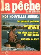 Revue  La pêche et les poissons No 416 Janvier 80