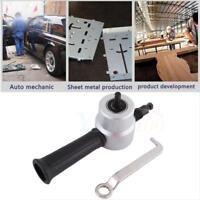 Nibble Double Head Sheet Nibbler Metal Cutter Saw Cutting Tool Drill Set