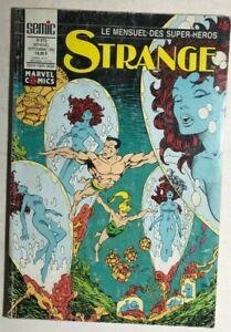 STRANGE #273 French color Marvel Comic (1992) Avengers She Hulk Namor Spidey VG+