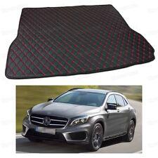 PU Leather Car Trunk Mat Cargo Pad Carpet Fit for Mercedes-Benz GLA 2015-2017