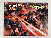 Batman & Superman Comic #50 (DC, 2016, Hastings Connecting Color Variant Covers)