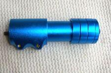 Componentes y piezas azul universal de aluminio para bicicletas