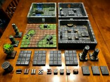 Big Dungeon Chunks Deluxe Set Terrain 28mm Dungeons & Dragons Pathfinder d&d rpg