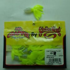 USA Import Strike King Crappie Thunder soft plastic lure 1.75inch 4.4cm 15pack