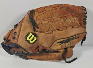"Wilson 13 1/2"" A2478 XXL Flex Back Dual Hinge Softball Glove RHT"