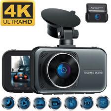 TOGUARD 4K+1080P Dual Dash Cam Auto Kamera Dashboard Park Monitor IR NightVision