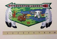 Tisquantum Lodge #164  J-10 Back Flap