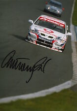 Anthony Reid mano firmato VODAFONE NISSAN 7x5 FOTO Touring Cars 1.